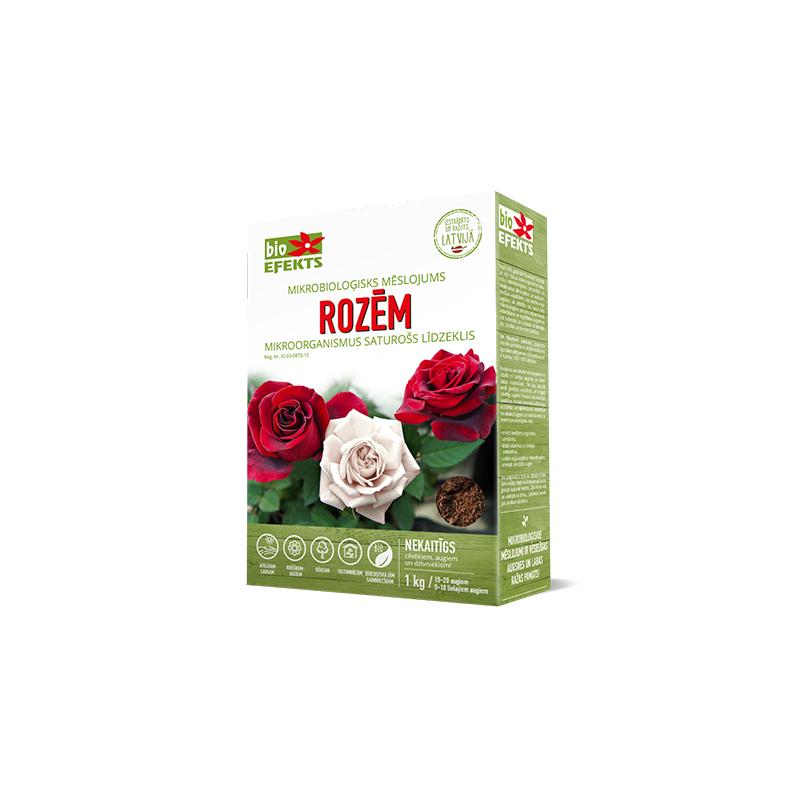 BIOEFEKTS mikrobiologinės trąšos rožėms 1kg